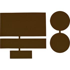 CAMPZ Reperationslapper i nylon 5 stk., brun